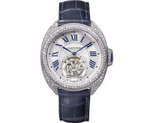 Clé de Cartier Flying Tourbillon watch