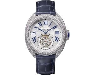 Clé de Cartier Flying Tourbillon watch