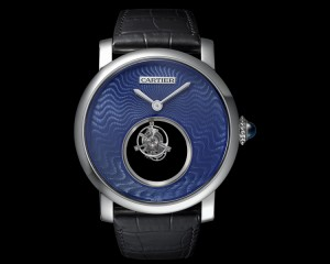 Replica Rotonde de Cartier Mysterious Double Tourbillon watch