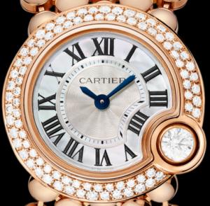 Ballon Blanc de Cartier 24mm Pink Gold Copy Watches