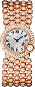 Ballon Blanc de Cartier 24mm Pink Gold Replica Watches