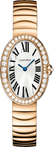 Women's Cartier Baignoire 18K Pink Gold Replica Watches