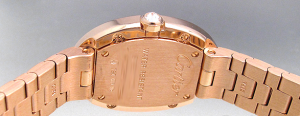Women's Cartier Baignoire 18K Pink Gold copy Watches