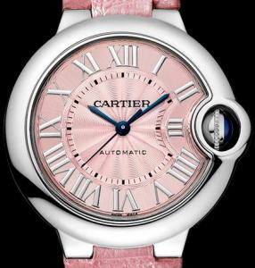 Women's Pink Ballon Bleu de Cartier 33mm copy  Watches