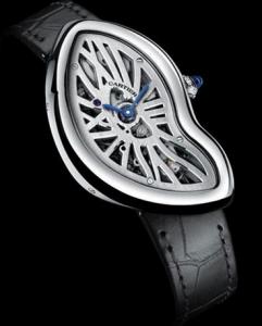 Cartier Crash Skeleton Fake Watches