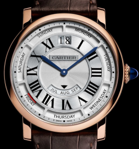 Men's Rotonde de Cartier Annual Calendar Replica Watches
