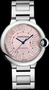Women's Ballon Bleu De Cartier Pink Dial Replica Watches
