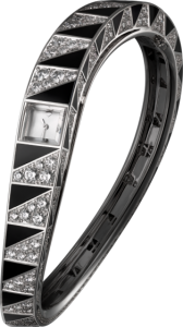 Women's High Jewelry Cartier à L'Infini Visible Hour Diamond Fake Watches
