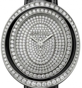 Cartier Hypnose Fake Watches With Pretty Diamonds