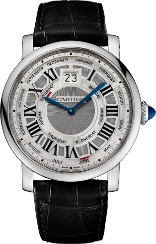 Fake Rotonde De Cartier Watches With Blue Hands