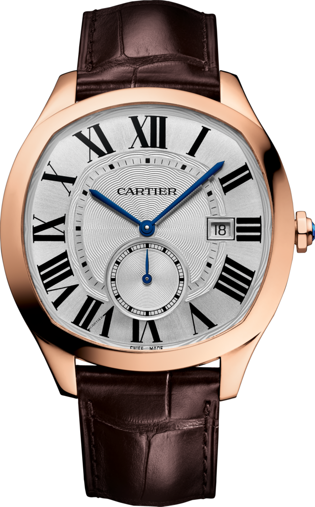 Silvered Dials Replica Drive De Cartier Watches