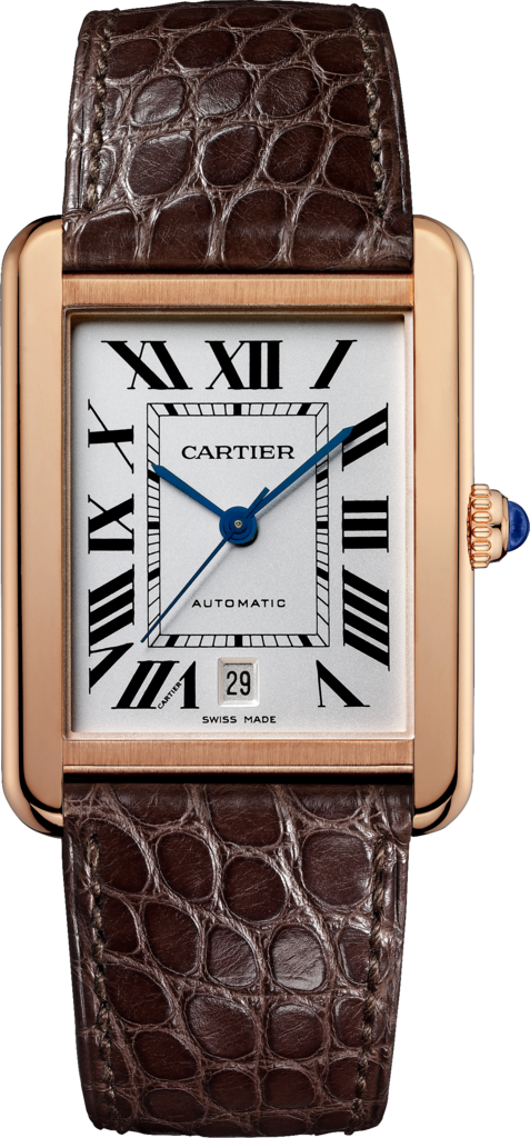 Fake Cartier Tank Solo Watches With Blue Hands
