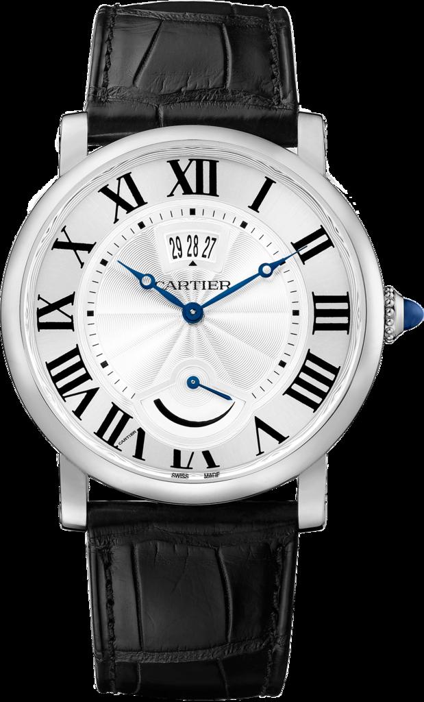 Black Roman Markers Fake Rotonde De Cartier Watches