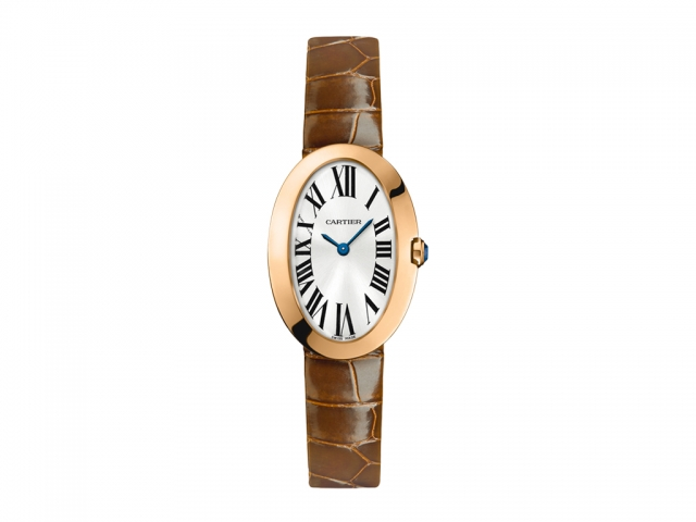 Blue Hands Copy Cartier Baignoire Watches