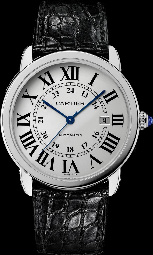 Blue Hands Replica Ronde Solo De Cartier Watches