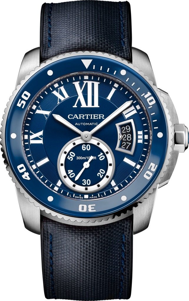 Blue Ceramic Bezels Copy Calibre de Cartier Diver Watches