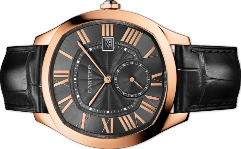 Copy Drive De Cartier Watches With Roman Hour Markers