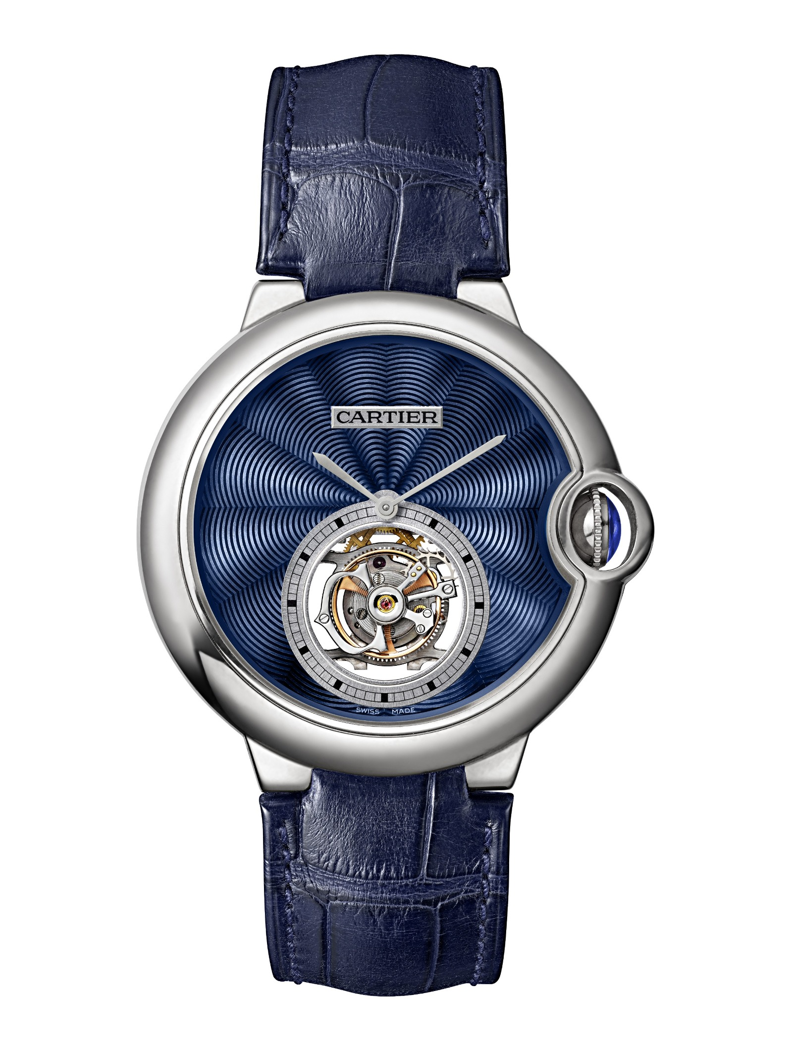 Ballon Bleu de Cartier Flying Tourbillon Replica Watches