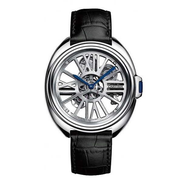 Clé De Cartier WHCL0008 Replica Watches With Palladium Bezels