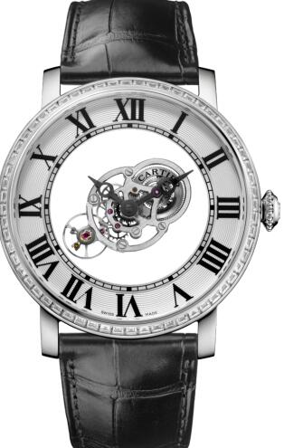 Mysterious copy Cartier watches adopt platinum material.