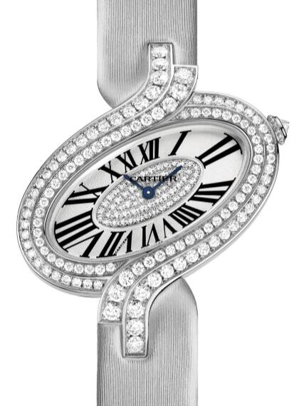 Swiss reproduction watches are glaring with diamonds.