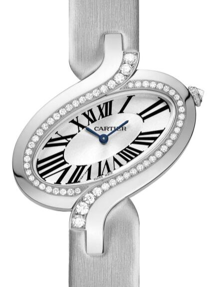 Pretty duplication watches are decorated with diamonds on the bezels.