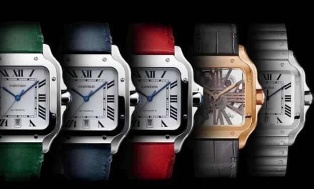 Perfect reproduction watches present different styles.