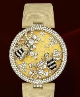 Swiss reproduction watches are decorated with bees.