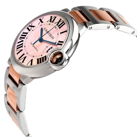 Pretty knock-off watches for sale are mixed with steel and rose gold.