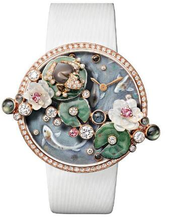 Forever imitation watches are stunning with precious gems.