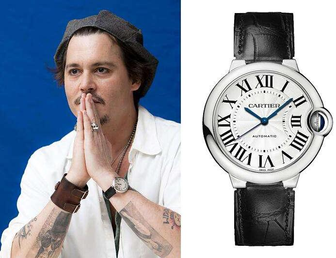 Swiss imitation watch online has the basic time with blue hands.