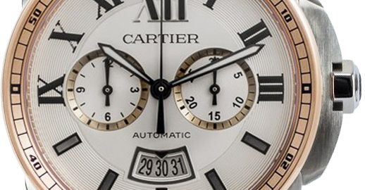 The 42 mm replica watch is designed for men.
